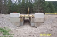 Cattle Guard Installations