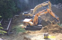 Culvert Removal Bridge Installation